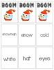 BOOM Sight Word Game - SnowmanThemed