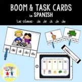 BOOM & TASK CLIP CARDS: Silabas iniciales - BUNDLE