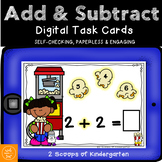 BOOM cards Addition & Subtraction within 10