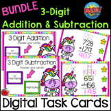 BOOM cards Bundle 3 Digit Addition and Subtraction - Dista