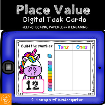 BOOM cards Place Value (Digital task cards)