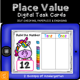 BOOM cards Place Value (Digital task cards) Distance Learning
