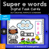 BOOM cards Super e Words