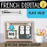 French boom cards math  I la valeur de position I French m