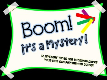 BOOM -- it's a Mystery!