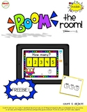 BOOM the ROOM: K.CC.B.5 (count to 5) FREEBIE