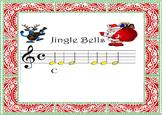 "BOOMWHACKERS AND PIANO SCORE Acompaniament. ""JINGLE BELLS"""