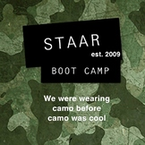 5th GRADE STAAR BOOT CAMP ELA STYLE!!  READING ARMY STYLE