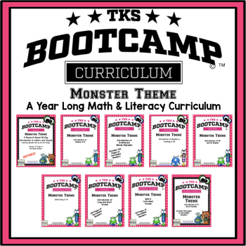 BOOTCAMP BUNDLE:  MONSTER EDITION