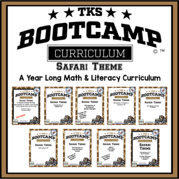 TKS BOOTCAMP BUNDLE:  SAFARI EDITION!