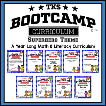 TKS BOOTCAMP BUNDLE:  SUPERHERO EDITION