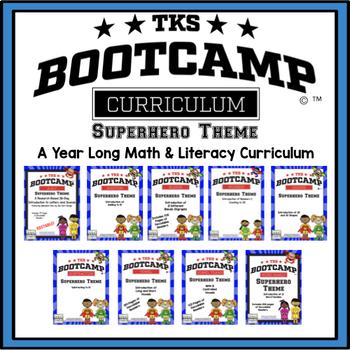 TKS BOOTCAMP BUNDLE:  SUPERHERO EDITION