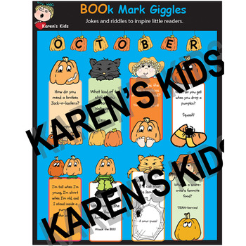 BOO_k Marks with October Riddles, Giggles and Jokes