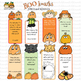 Halloween BOOK Marks with October Riddles, Giggles and Jokes