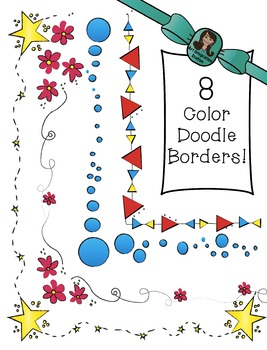 BORDER and FRAME Doodles! **COLOR edition**