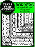 15 Borders {Texas Twist Scribbles}