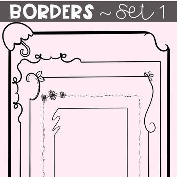 BORDERS~ SET 1