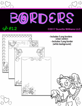 BORDERS SET #12
