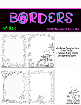 BORDERS SET #14: FALL