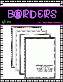 BORDERS SET #8: Bold Borders