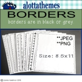 BORDERS for worksheets