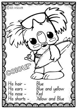 BOROBI - Australian Commonwealth Games Mascot (QLD, NSW, VIC, TAS ANS SA FONTS)