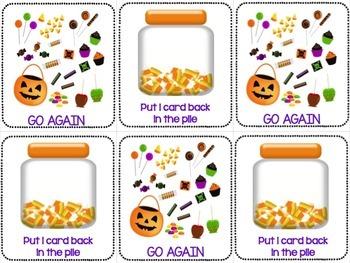 Halloween Literacy Games: BOSSY R GAME