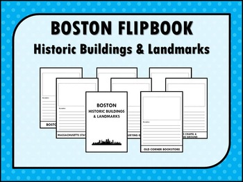 BOSTON Historic Buildings & Landmarks FLIPBOOK