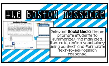 BOSTON MASSACRE American Revolution Colonial America