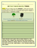 BOTANY: TREES: A NAME GAME
