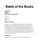 Battle Of The Books - Ghost by Jason Reynolds