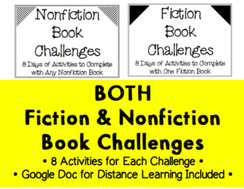 BOTH 5-Day Book Challenges (Fiction & Non-Fiction)