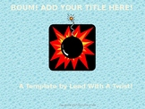BOUM! Game template - Make your own games!