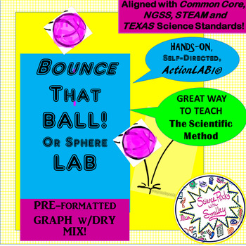 BOUNCE that BALL LAB! ALL Scientific Method steps + Graph + FREE TEAM MgmtSET