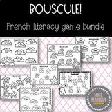 BOUSCULE! French Literacy Centre Game Bundle (Printer Friendly!)