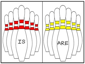 BOWLING FOR GRAMMAR: IS/ARE, WAS/WERE