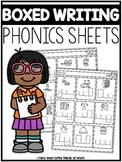 BOXED Writing Phonics Sheets