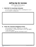 BOY Coteaching Meeting Sample Agenda