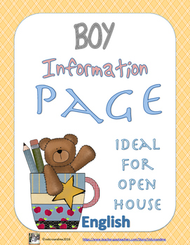 BOY Information Page for Open House