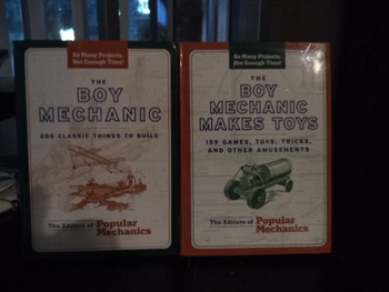 BOY MECHANIC BOOKS              (SET OF2)