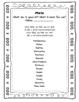 BOY Math Survey