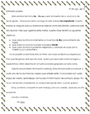 BOY Parent Letter With Class Goals & Expectations- IN SPANISH