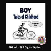 BOY Tales of Childhood, by Roald Dahl: A PDF and Digital B