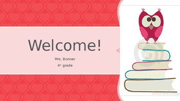 BOY Welcome PowerPoint