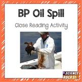BP Oil Spill- Close Reading Activity