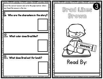 BR Blend Easy Reader Guided Reading Books Differentiated Readers