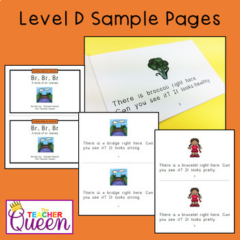 BR- Blend Readers Levels B and D (Printable Books and eBooks)