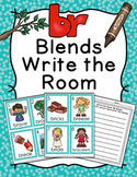 BR Blends Write the Room Activity