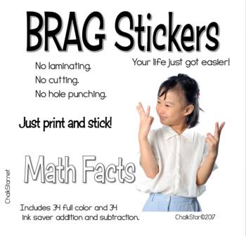 BRAG Tag Stickers