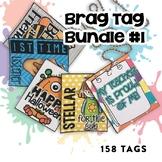 Brag Tags Bundle #1 | Digital Stickers | Digital Brag Tags
